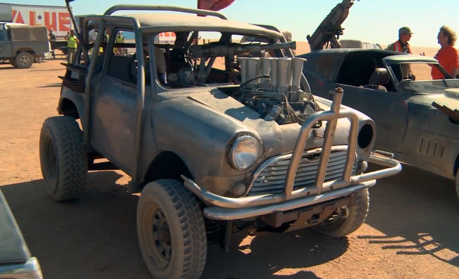 New Mad Max Movie Features Highly Modded Classic Mini